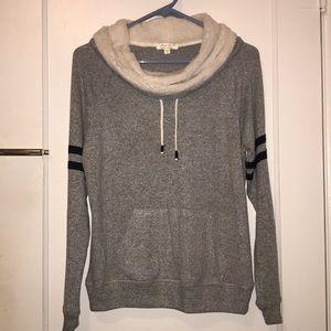 Ultra flirt cowl neck sweater